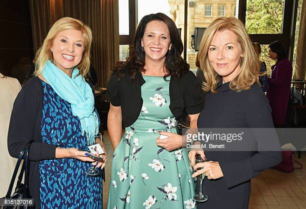 Lucy Meacock Claire Ashforth and Mary Nightingale attend The 61st Women of the Year lunch and awards 2016 at InterContinental Park Lane Hotel on...