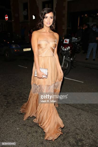 Lucy Mecklenburgh attending the Bardou Foundation International Women's Day celebration at the Hospital Club on March 8 2018 in London England