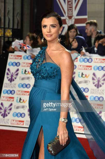 Lucy Mecklenburgh attends Pride Of Britain Awards 2019 at The Grosvenor House Hotel on October 28 2019 in London England