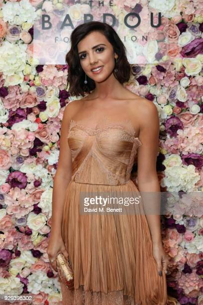 Lucy Mecklenburgh attends The BARDOU Foundation's International Women's Day IWD private dinner at The Hospital Club on March 8 2018 in London England