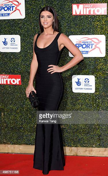 Lucy Mecklenburgh attends the Daily Mirror Pride Of Sport Awards at Grosvenor House on November 25 2015 in London United Kingdom