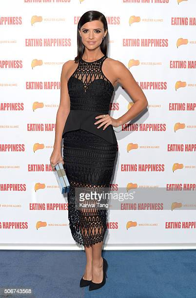 Lucy Mecklenburgh attends the Eating Happiness VIP screening at the Mondrian Hotel on January 25 2016 in London England