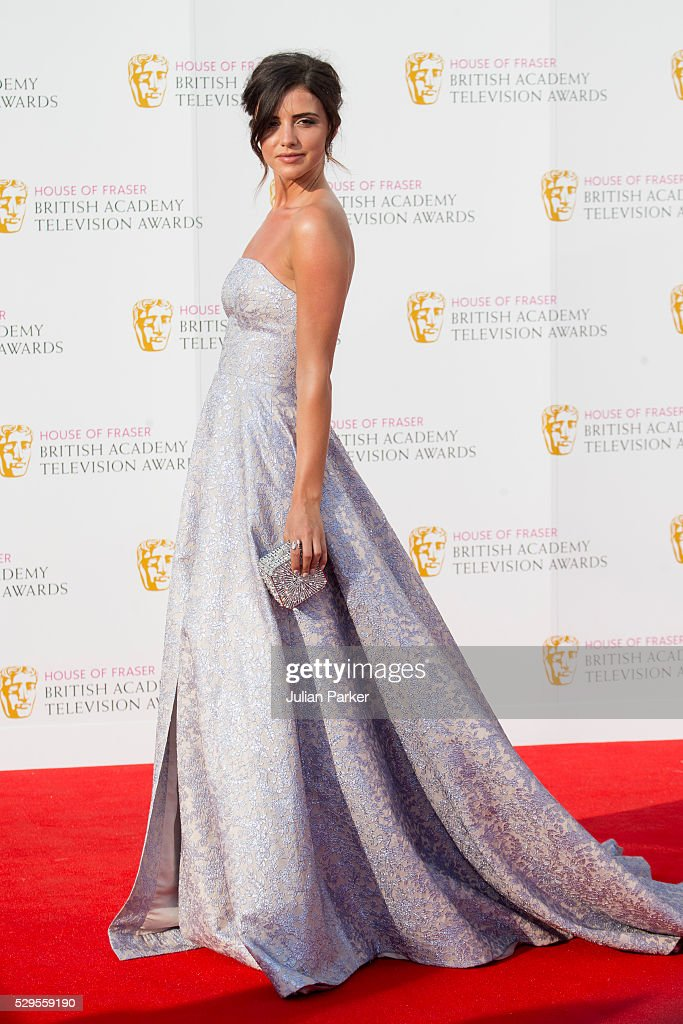 Lucy Mecklenburgh attends the House Of Fraser British Academy Television Awards 2016 at the Royal Festival Hall on May 8, 2016 in London, England.