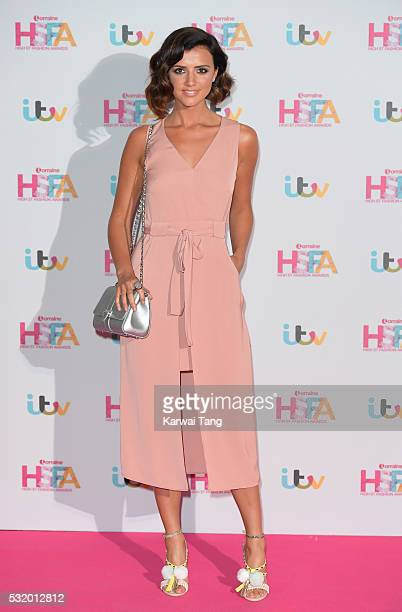 Lucy Mecklenburgh attends the Lorraine's High Street Fashion Awards at Grand Connaught Rooms on May 17 2016 in London England