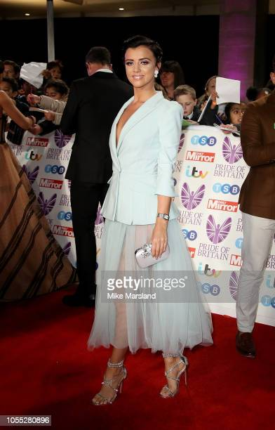 Lucy Mecklenburgh attends the Pride of Britain Awards 2018 at The Grosvenor House Hotel on October 29 2018 in London England