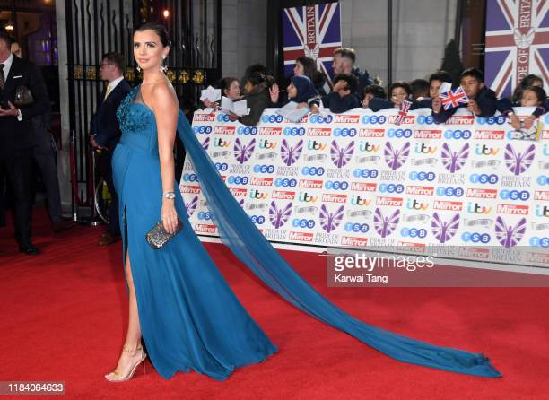 Lucy Mecklenburgh attends the Pride Of Britain Awards 2019 at The Grosvenor House Hotel on October 28 2019 in London England