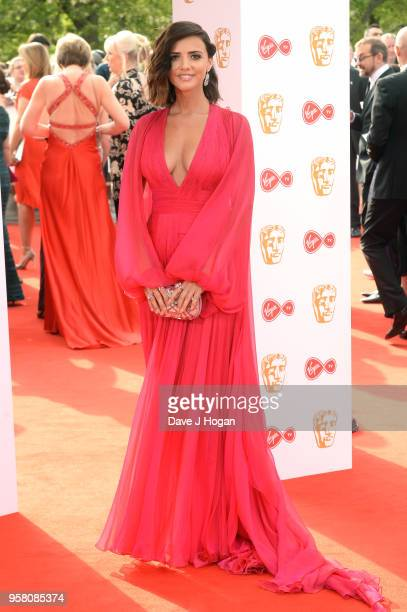 Lucy Mecklenburgh attends the Virgin TV British Academy Television Awards at The Royal Festival Hall on May 13 2018 in London England