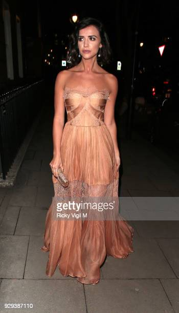 Lucy Mecklenburgh seen attending The Bardou Foundation: International Women's Day Gala at The Hospital Club on March 8, 2018 in London, England.