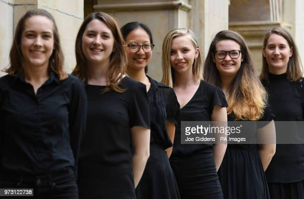 Lucy Morrell Katy Silverman Jessica Lim Anna Lapwood Ellie Carter and Claire InnesHopkins who make up part of a team of female organists who will...