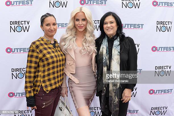 Lucy MukerjeeBrown Gigi Curtis and Barbara Kopple attend the 21st Outfest Queer Bruch At Sundance Presented By DIRECTV NOW at Grub Steak on January...