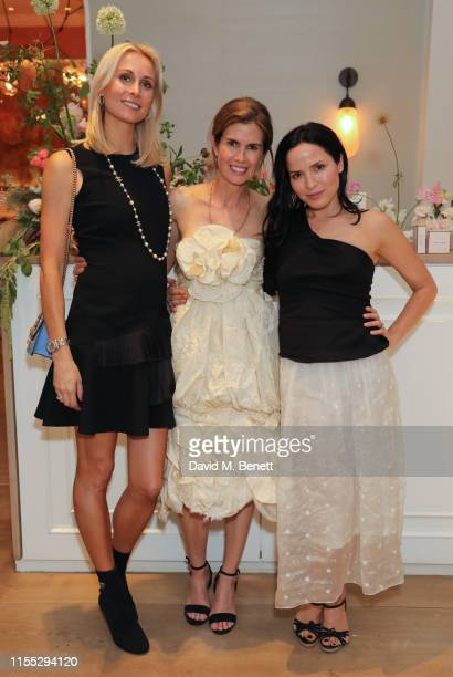 Lucy Nagle Gucci Westman and Andrea Corr attend the UK launch event for clean luxury beauty brand Westman Atelier hosted by international makeup...