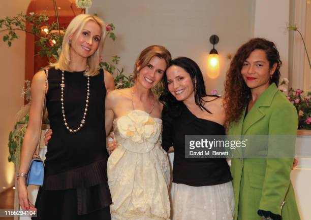 Lucy Nagle Gucci Westman Andrea Corr and Lily BertrandWebb attend the UK launch event for clean luxury beauty brand Westman Atelier hosted by...