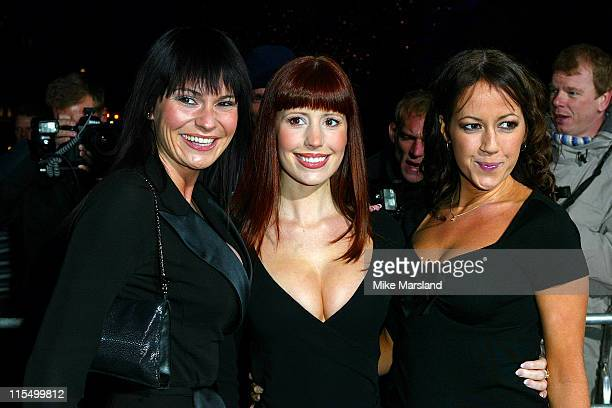 Lucy Pargeter Amy Nuttall and Sheree Murphy from 'Emmerdale'