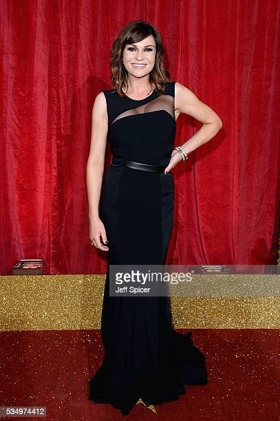 Lucy Pargeter attends the British Soap Awards 2016 at Hackney Empire on May 28 2016 in London England