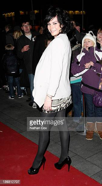 Lucy Pargeter attends the Once Upon A Smile charity launch at the Hilton Hotel on February 18 2012 in Manchester England at Hilton Hotel on February...