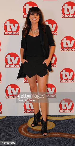 Lucy Pargeter attends the TV Choice Awards 2014 at the London Hilton on September 8 2014 in London England