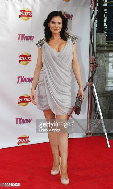 Lucy Pargeter attends the TV Now Awards on May 22 2010 in Dublin Ireland