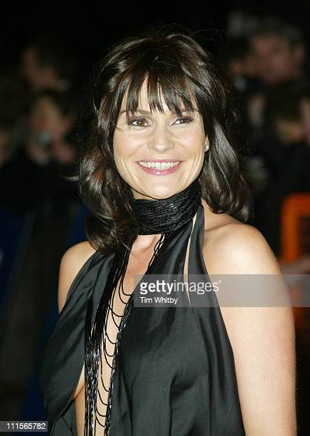 Lucy Pargeter during National Television Awards 2005 Arrivals at Royal Albert Hall in London Great Britain