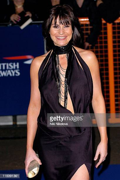 Lucy Pargeter during National Television Awards 2005 at Royal Albert Hall London in London United Kingdom