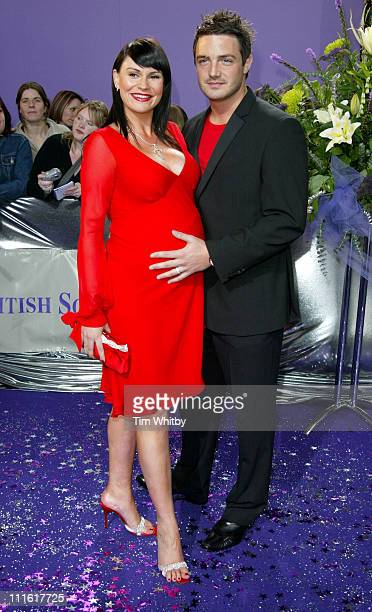 Lucy Pargeter during The 2005 British Soap Awards Arrivals at BBC Tv Studios in London Great Britain