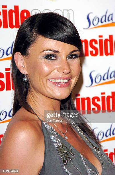 Lucy Pargeter during The Inside Soap Awards 2004 Press Room at La Rascasse Cafe Grand Prix in London Great Britain