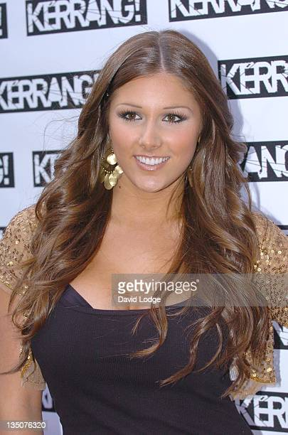 Lucy Pinder during 2005 Kerrang! Awards at The Brewrey in London, Great Britain.
