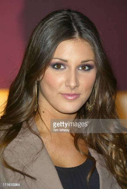 """Lucy Pinder during """"Hell's Kitchen II"""" - Day 10 - Arrivals at Truman Brewery in London, Great Britain."""