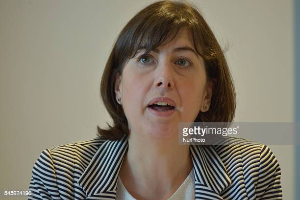 Lucy Powell MP, Member of Parliament for Manchester Central, speaking at the 'Finding True North: Realising the Northern Powerhouse' event held by...