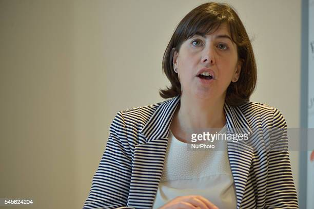 Lucy Powell MP Member of Parliament for Manchester Central speaking at the 'Finding True North Realising the Northern Powerhouse' event held by the...