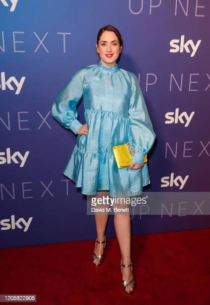 Lucy Prebble attends the Sky TV Up Next Event at Tate Modern on February 12 2020 in London England Up Next is Sky's inaugural showcase event to...