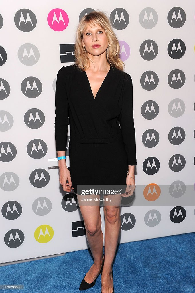 Lucy Punch attends Moto X Launch Event on August 1, 2013 in New York City.