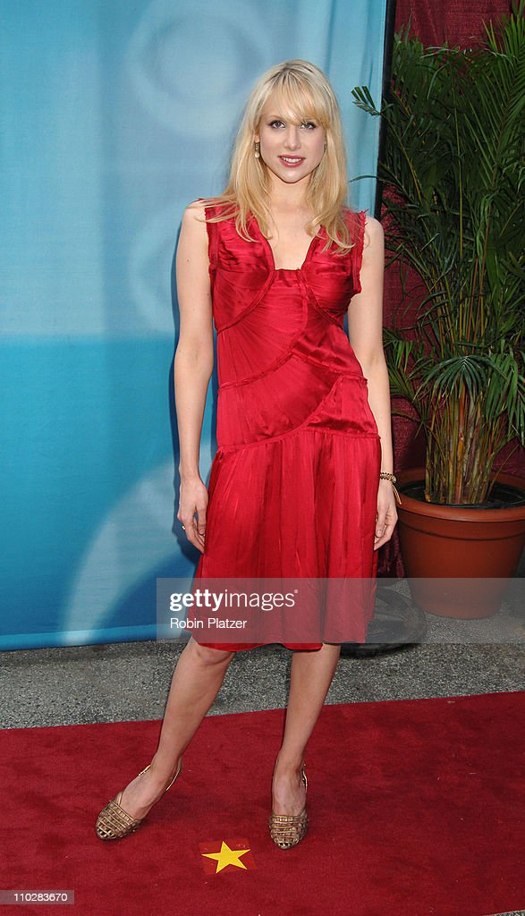 Lucy Punch during CBS Upfront 2006 - 2007 at Tavern On The Green in New York City, New York, United States.
