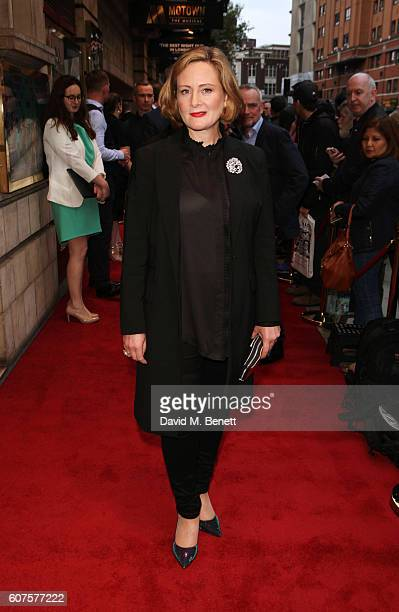 Lucy Robinson attends the National Youth Theatre's 60th Anniversary Gala The Story Of Our Youth At 60 at The Shaftesbury Theatre on September 18 2016...