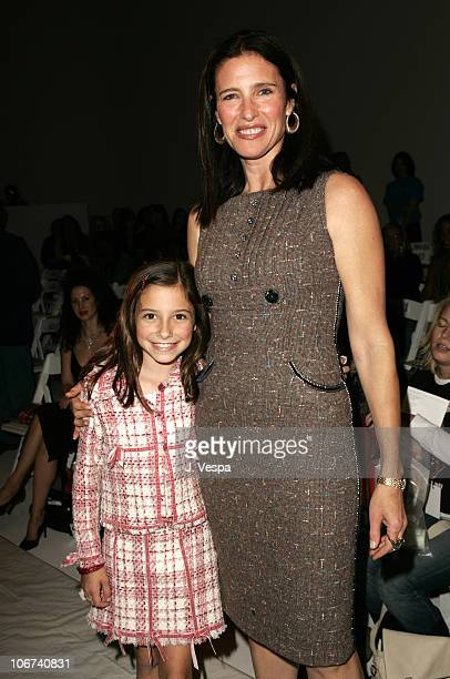 Lucy RogersCiaffa and Mimi Rogers during MercedesBenz Spring 2005 Fashion Week at Smashbox Studios Rachel Pally Front Row at Smash Box Studios in...