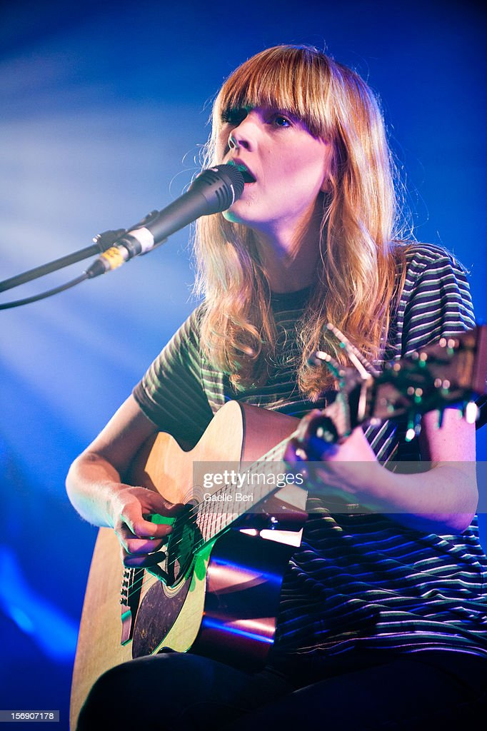 Lucy Rose Parton performs as part of Mencap's Little Noise Sessions at St John-At-Hackney on November 24, 2012 in London, England.