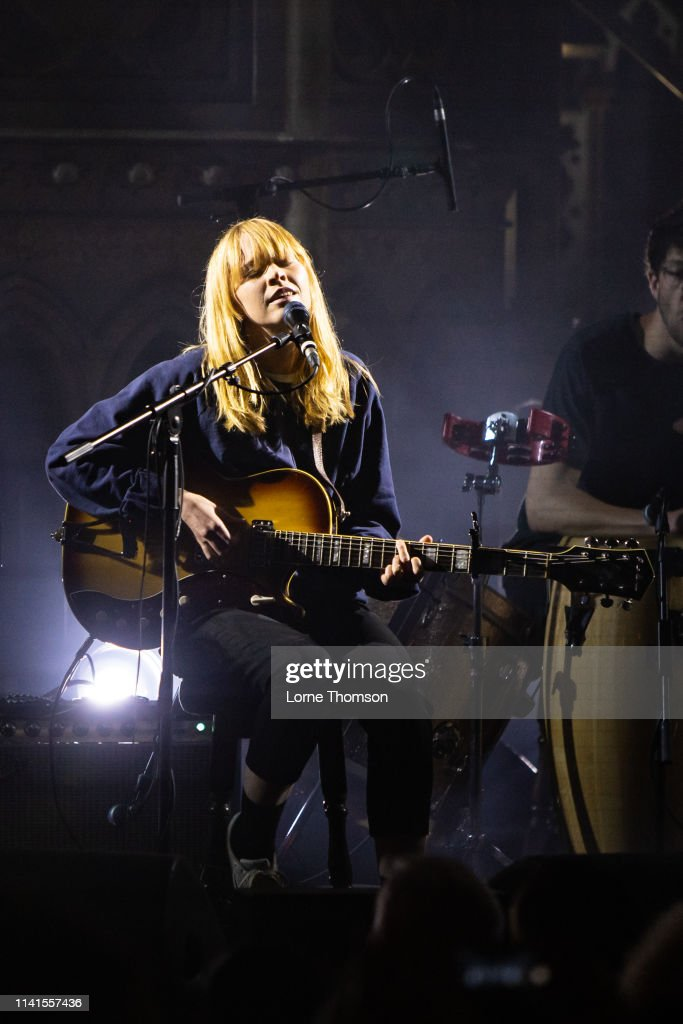 GBR: Lucy Rose Performs At Union Chapel London