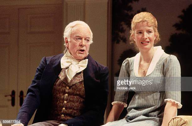 Lucy Scott and Tony Britton in a production of Jane Austen's Mansfield Park at Chichester