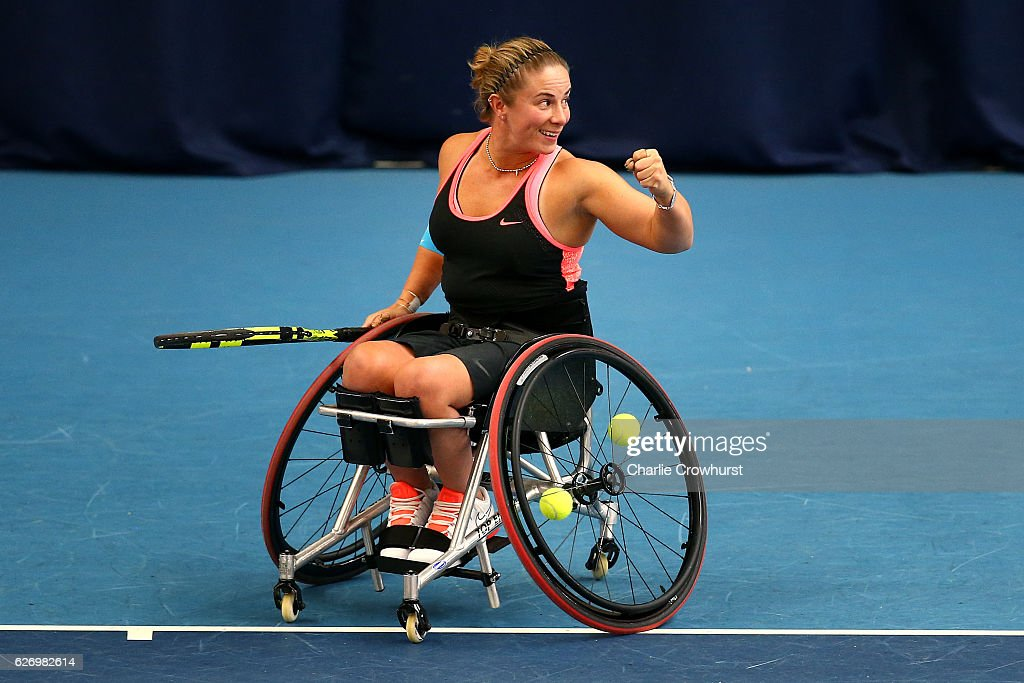 NEC Wheelchair Tennis Masters - Day 2