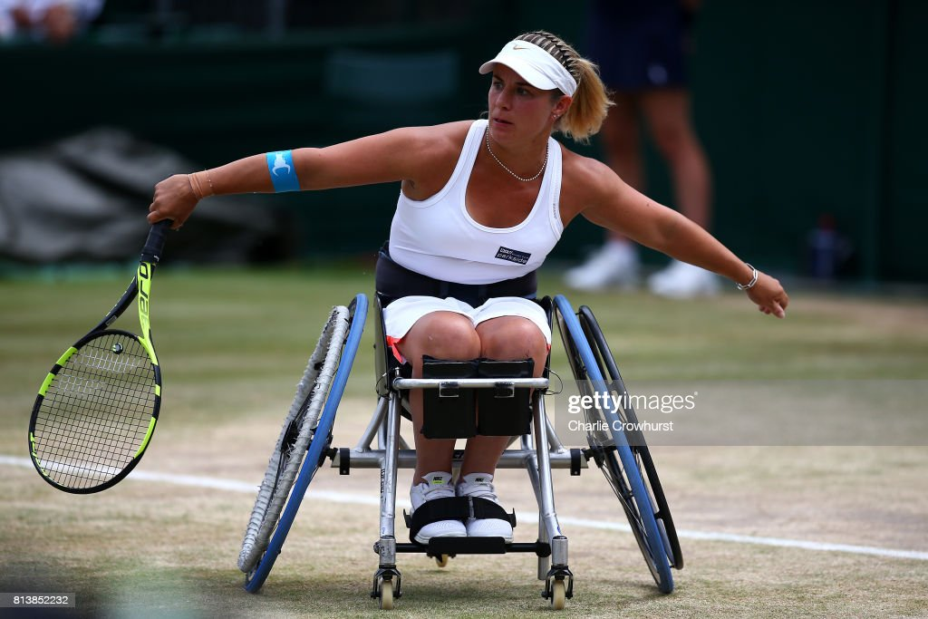 The Championships - Wimbledon 2017 - Wheelchair Event Day 1