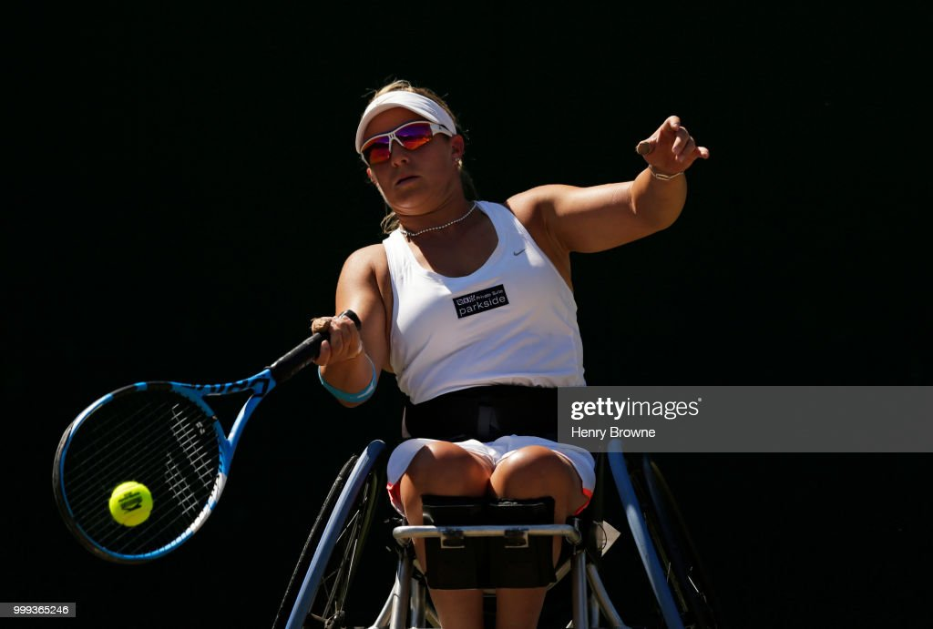 Wimbledon Wheelchair Tennis : News Photo