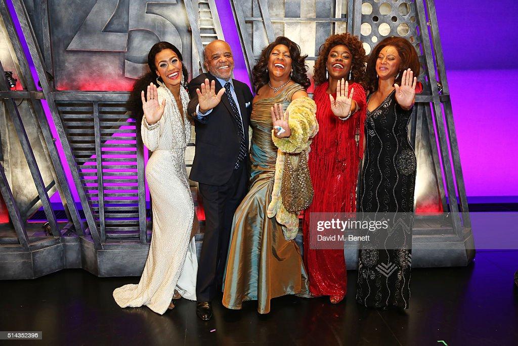 """Motown The Musical"" - Press Night - Curtain Call & Backstage : Foto jornalística"