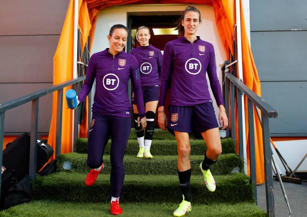 GBR: England Women Camp - FIFA Women's World Cup Qualifiers