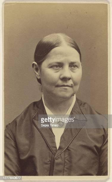 Lucy Stone Sumner B Heald about 1870 Albumen silver print