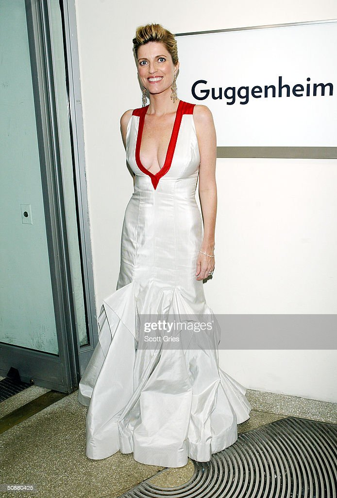 Lucy Sykes during a gala to honor designer Azzedine Alaia at the Guggenheim Museum May 20, 2004 in New York City.