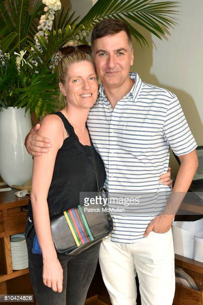 Lucy Sykes Rellie and Euan Rellie attend eBay Hosts July 4th Benefit for Sag Harbor Cinema Restoration Project at Lulu Kitchen and Bar on July 3 2017...