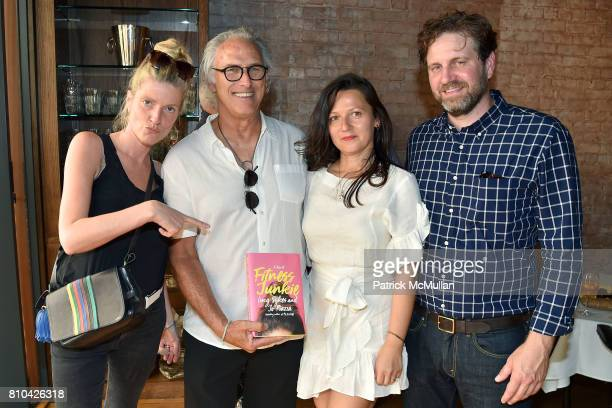 Lucy Sykes Rellie Eric Fischl Karina Sokolovsky and Brian Lebford attend eBay Hosts July 4th Benefit for Sag Harbor Cinema Restoration Project at...