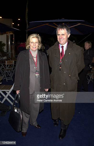 Lucy Turnbull and Malcolm Turnbull arrive for the opening night of the Cirque du Soleil production of 'Alegria' under the Grand Chapiteau at Moore...