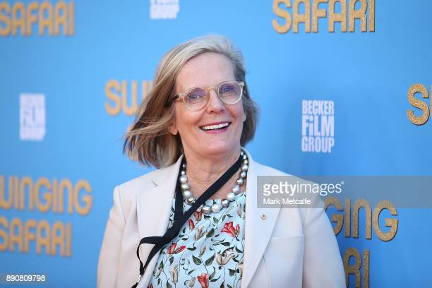 Lucy Turnbull attends the world premiere of Swinging Safari on December 12 2017 in Sydney Australia