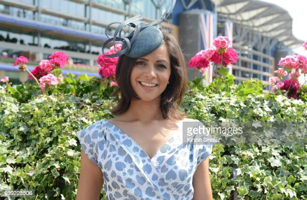 Lucy Verasamy attends day 2 of Royal Ascot at Ascot Racecourse on June 21 2017 in Ascot England