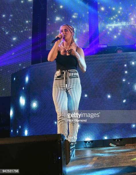 Lucy Voll performS at Country Thunder Music Festival Arizona Day 1 on April 5 2018 in Florence Arizona